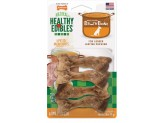 Nylabone Healthy Edibles Bone Broth Ham Small 4ct