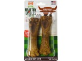 Nylabone Natural Healthy Edibles Bully Chews Large 2ct