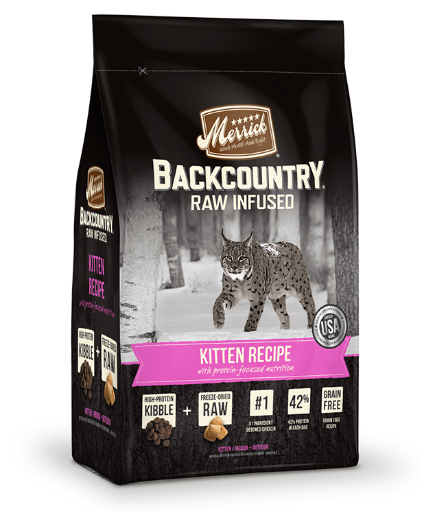 Merrick Backcountry Raw Infused Kitten Recipe 6LB