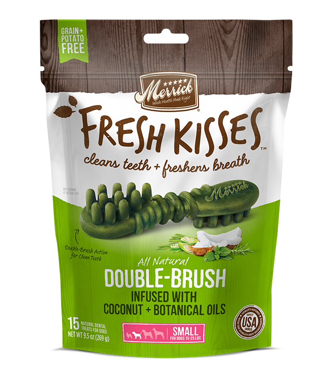 Merrick Fresh Kisses Coconut Oil For Small Dogs (17-30 lbs) 9.7OZ