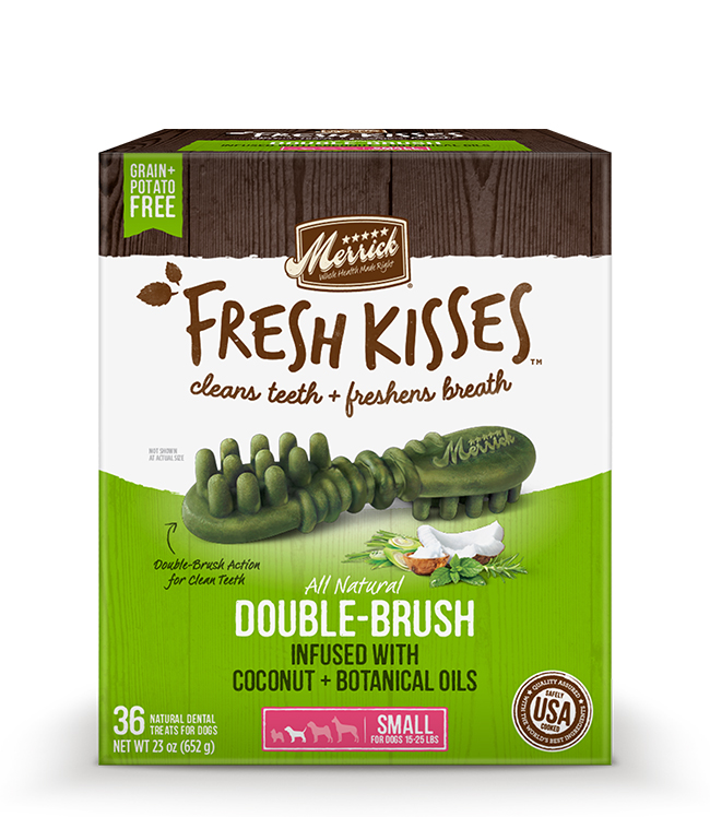Merrick Fresh Kisses Coconut Oil For Small Dogs (17-30 lbs) 23OZ