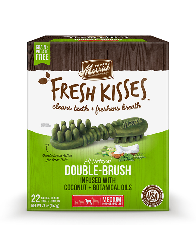 Merrick Fresh Kisses Coconut Oil For Medium Dogs (30-70 lbs) 23OZ