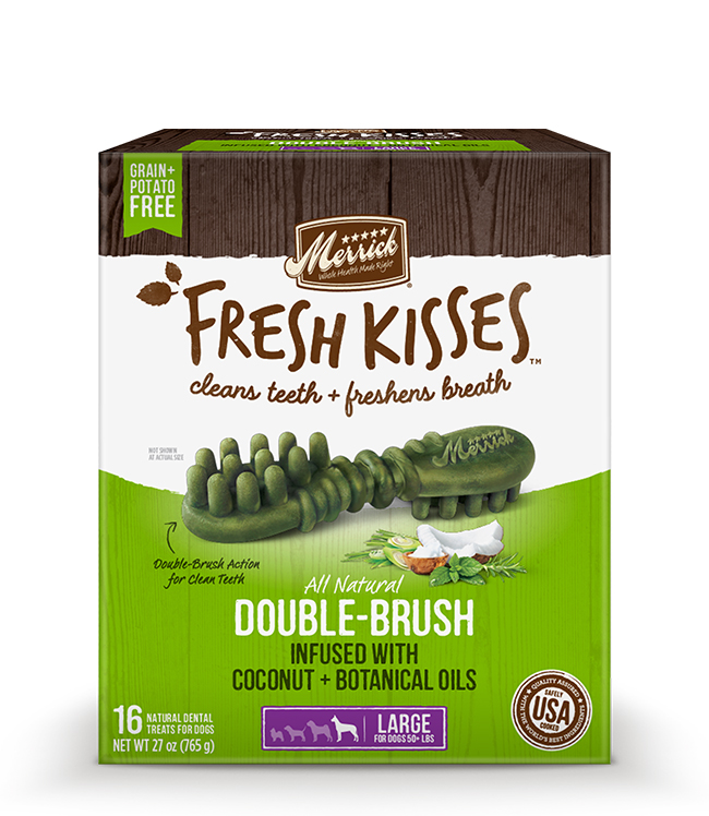 Merrick Fresh Kisses Coconut Oil For Large Dogs (70+ lbs) 30OZ