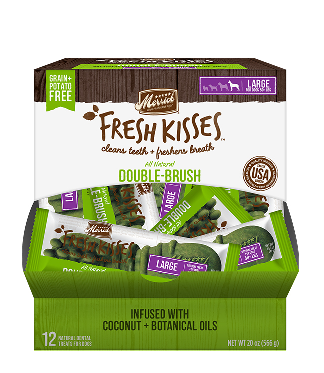 Merrick Fresh Kisses Coconut Oil Singles For Large Dogs (70+ Lbs)