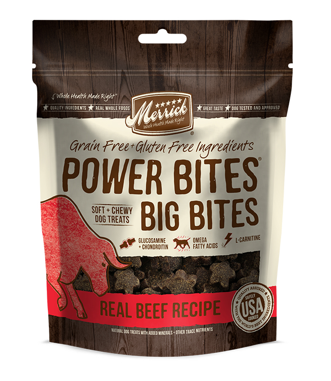 Merrick Big Bites Real Beef Recipe 6OZ
