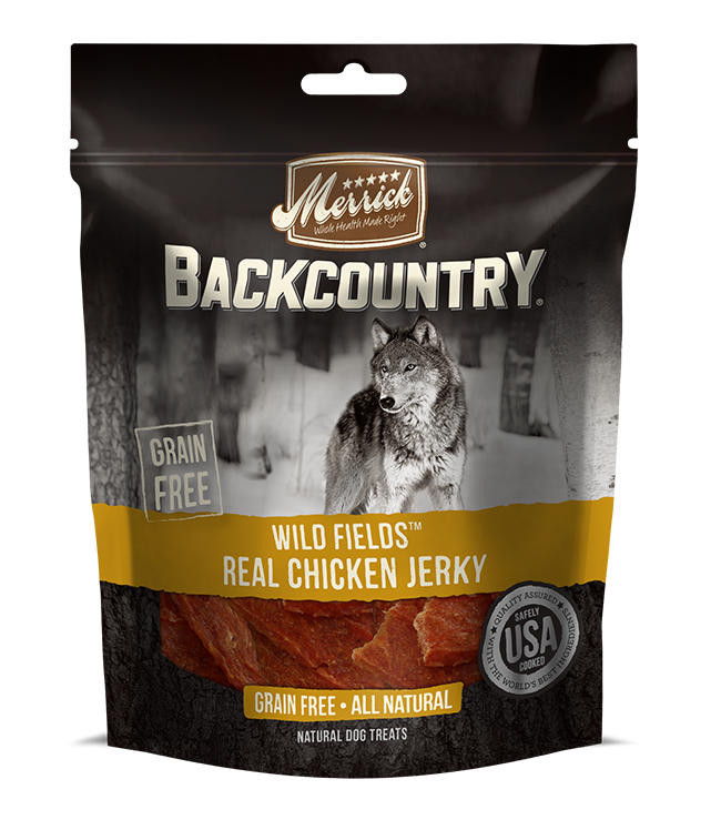 Merrick Backcountry Wild Fields Real Chicken Jerky 4.7OZ