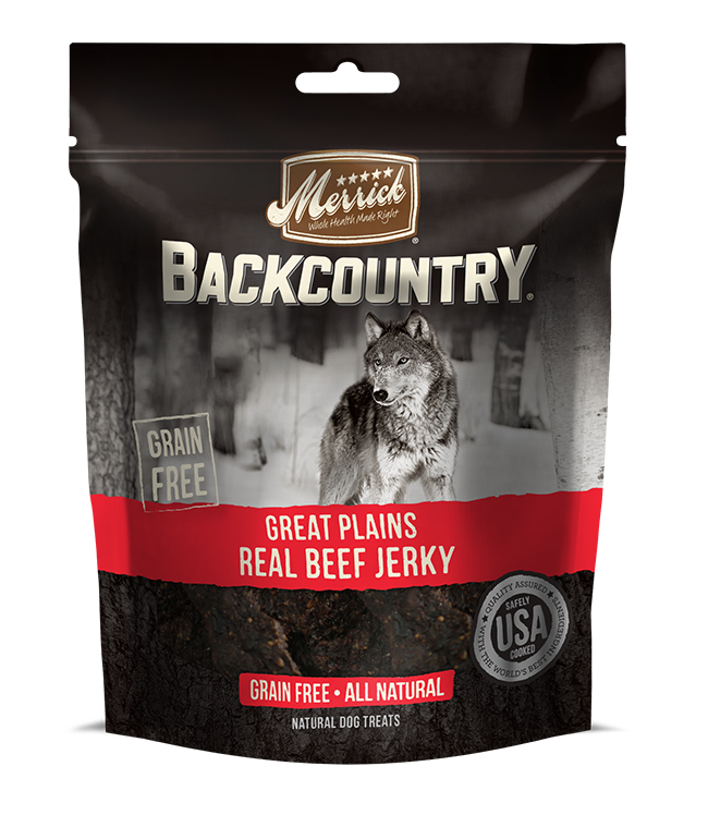 Merrick Backcountry Great Plains Real Beef Jerky 4.7OZ