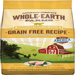Whole Earth Farms Cat Grain Free Chicken 2.5Lb