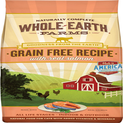 Whole Earth Farms Cat Grain Free Salmon 10Lb