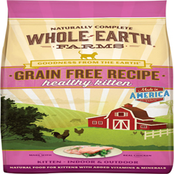 Whole Earth Farms Cat Grain Free Kitten 2.5Lb