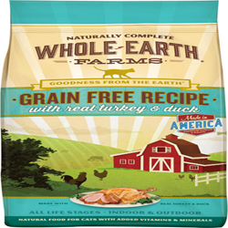 Whole Earth Farms Cat Grain Free Turkey & Duck 5Lb