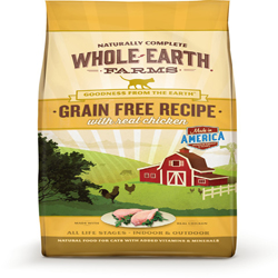 Whole Earth Farms Cat Grain Free Chicken 15Lb