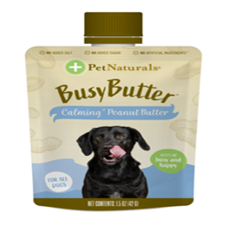 Pet Naturals of Vermont Busy Better Calm Peanut Butter 1.5Oz