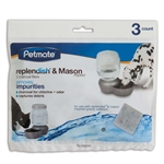 Petmate Replenish Charcoal 3 Pack Filter