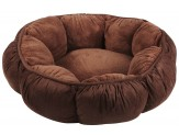 Aspen Pet Puffy Round Cat Bed Assorted