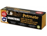 Petmate Hi Back Pan Drawstring Liners 12ct Large