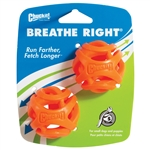 Chuckit! Breathe Right Fetch Ball Sm 2Pk