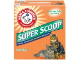 Arm & Hammer Super Scoop Clumping Litter 14lb-Case of 3