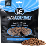 Vital Essentials Beef Nibs Freeze-Dried Raw Dog Treats, 6.2OZ