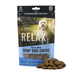 Vital Essentials RELAX Freeze-Dried Hemp Chews for Dogs, 3OZ