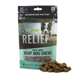 Vital Essentials RELIEF Freeze-Dried Hemp Chews for Dogs, 3OZ