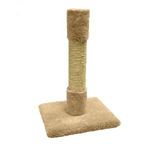 Classy Kitty All Sisal Cat Post 26in