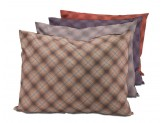 DMC Pillow Bed Assorted Plaids 27inx36in