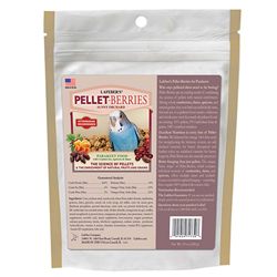 Lafeber Pellet-Berries Parakeet Food 10oz
