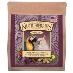 Lafeber Nutri-Berries Senior Macaw Bird Food 3lb