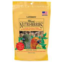 Lafeber Classic Nutri-Berries Conure Bird Food 10oz