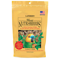 Lafeber Classic Nutri-Berries Parrot Bird Food 10oz
