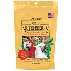 Lafeber Classic Nutri-Berries Macaw Bird Food 10oz