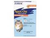 Zodiac Spot On Flea Control Cats & Kittens