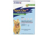 Zodiac Spot On Plus Flea & Tick Control for Cats Over 5lb 4pk