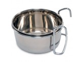 Prevue Pet Products Stainless Steel Coop Cup with Hanger 10oz