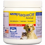 ProDen - PlaqueOff Dental Powder for Dogs & Cats 240g