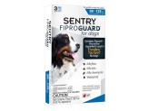 SENTRY FiproGuard Dog Flea & Tick Squeeze-On 89-132lb 3ct