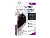 SENTRY FiproGuard Cat Flea & Tick Squeeze-On 3ct