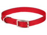 Coastal Single-Ply Nylon Collar Red 3/8X10in