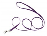 Coastal Single-Ply Nylon Leash Purple 3/8X4ft