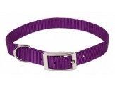 Coastal Single-Ply Nylon Collar Purple 5/8X12in
