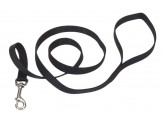 Coastal Single-Ply Nylon Leash Black 5/8X6ft
