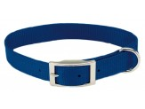 Coastal Single-Ply Nylon Collar Blue 3/4X16in
