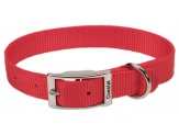 Coastal Single-Ply Nylon Collar Red 3/4X18in