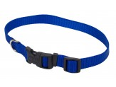 "Coastal Pet Tuff Buckle Adjustable Nylon Collar, 5/8""   x 10"" - 14"""