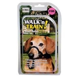 Coastal Pet Walk N Train! Head Halter  Xsmall Black