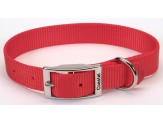 Coastal Single-Ply Nylon Collar Red 1X18in