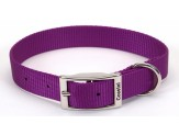 Coastal Single-Ply Nylon Collar Purple 1X18in