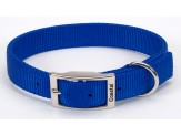 Coastal Double-Ply Nylon Collar Blue 1X18in