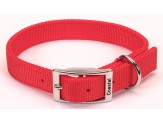 Coastal Double-Ply Nylon Collar Red 1X24in